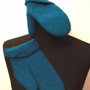 filcowe rękawiczki zimowe