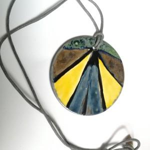 naszyjnik wisior ceramiczny handmade