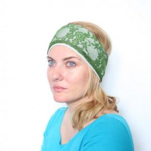 opaska zielona koronkowa handmade
