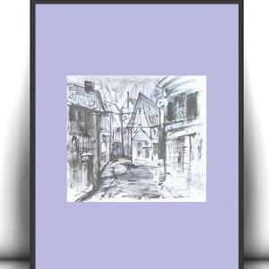 Pszczoła plakat dla dzieci, zabawny obrazek z pszczołą