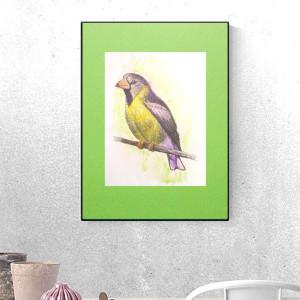 pszczółka obrazek dla dzieci, plakat z pszczółką, ilustracja z pszczołą