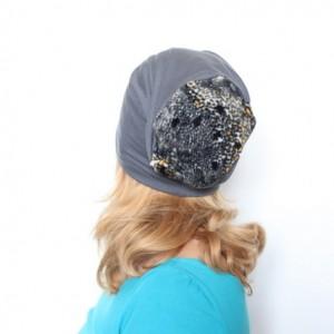 czapka damska dresowa z panterką