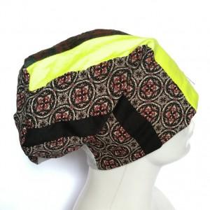 czapka patchworkowa  damska uniwersalna