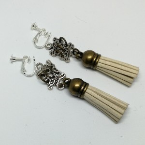 klipsy lekkie etno folkowe handmade