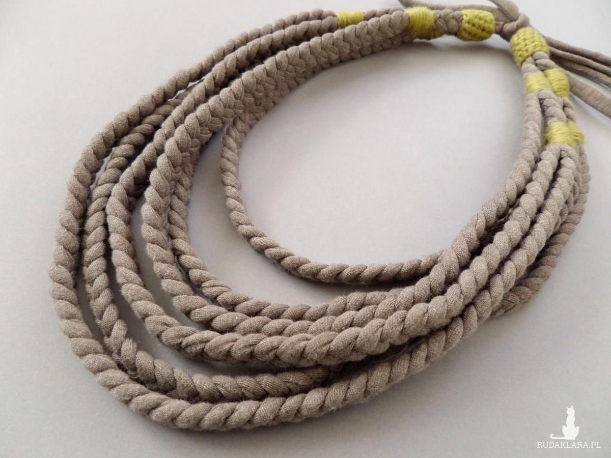 Naszyjnik ECOetnica etniczny masajka zamotka 050