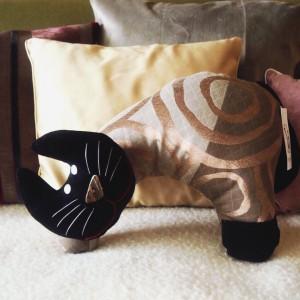 Poduszka dekoracyjna KOT