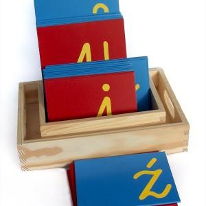 Szorstki alfabet pisany- małe litery