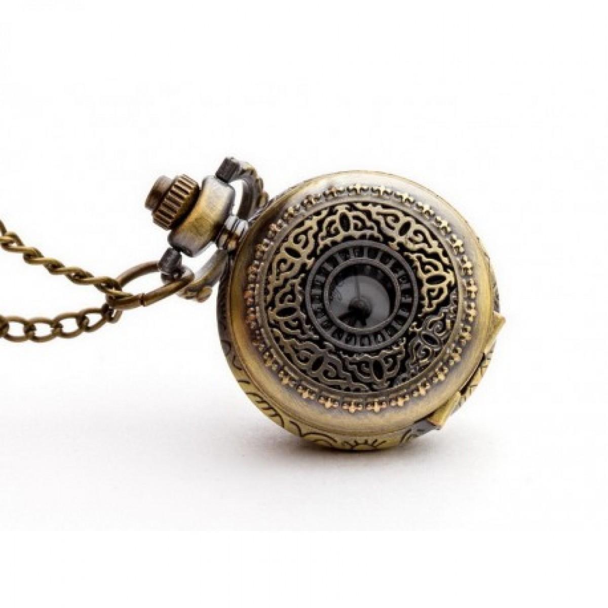 Hawuc I - zegarek wisiorek na łańcuszku