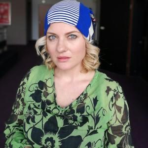 czapka patchworkowa damska kolorowa energetyczna wiosenna