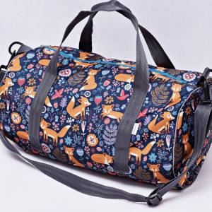 Torba podróżna wodoodporna podręczna, torba na basen siłownię, torba sportowa liski