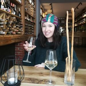 czapka damska szyta patchworkwo kolorowa wiosenna handmade