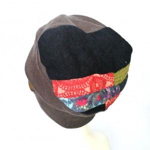 czapka damska wiosenna uniwersalna