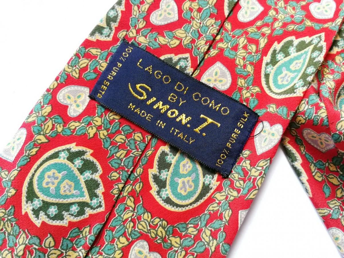 krawat jedwabny  orientalny boho vintage-box Y1- pojedyncza sztuka, polecam stan bdb