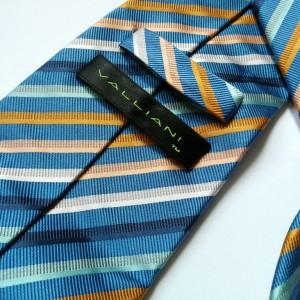 krawat  w paski boho vintage-box Y1- pojedyncza sztuka, polecam stan bdb