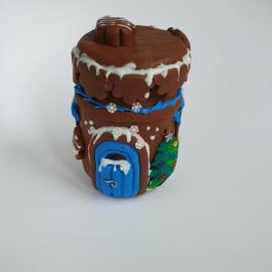"""Miniaturowy domek """"Domek z Piernika"""""""