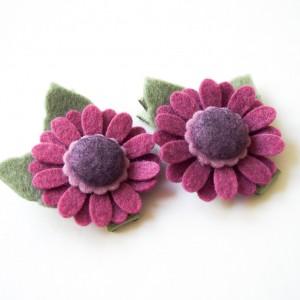 Spinki do włosów kwiatki