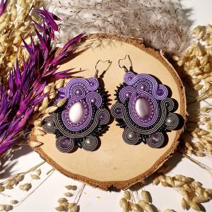 Purple Haze - kolczyki sutasz