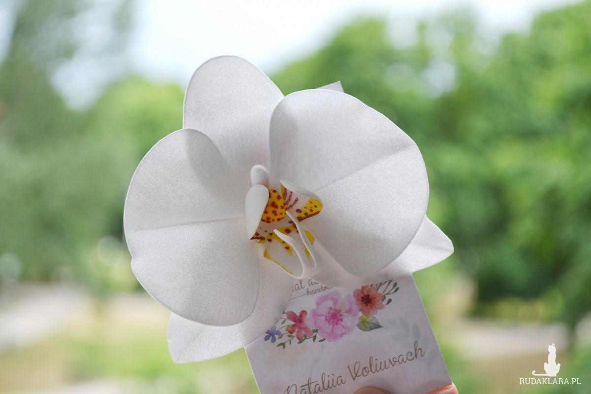 WEDDING HAIRCLIP ORCHID