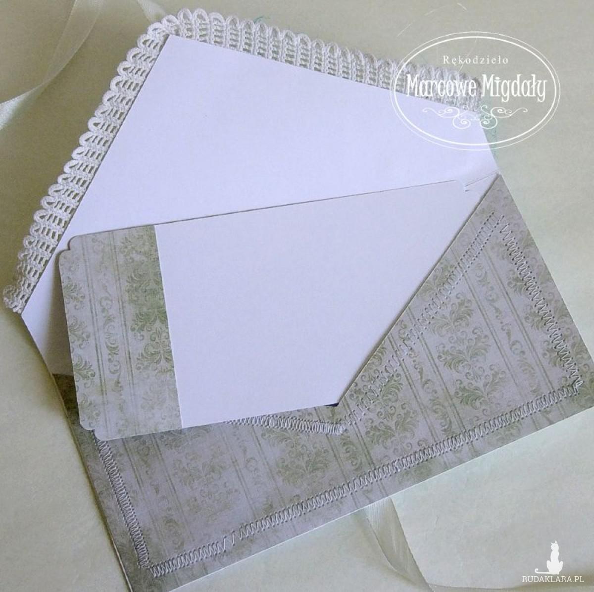 Ślubna kopertówka letnie marzenie