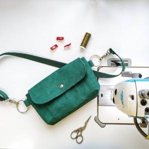Butelkowa Biodrówka- torebka na pas