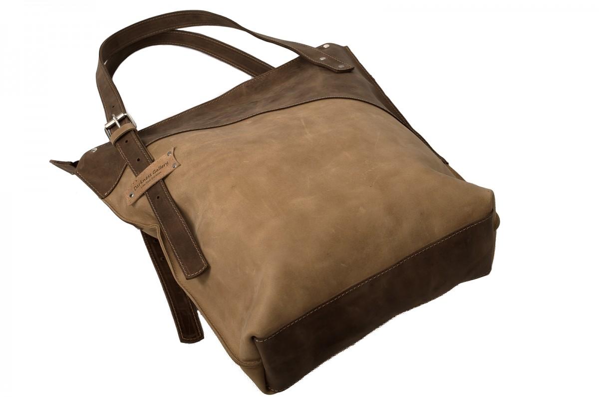 Ręcznie robiona skórzana torebka niebieska, skórzane torby