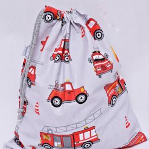 Worek na buty worek na kapcie do przedszkola do szkoły worek szkolny na ubrania straż pożarna