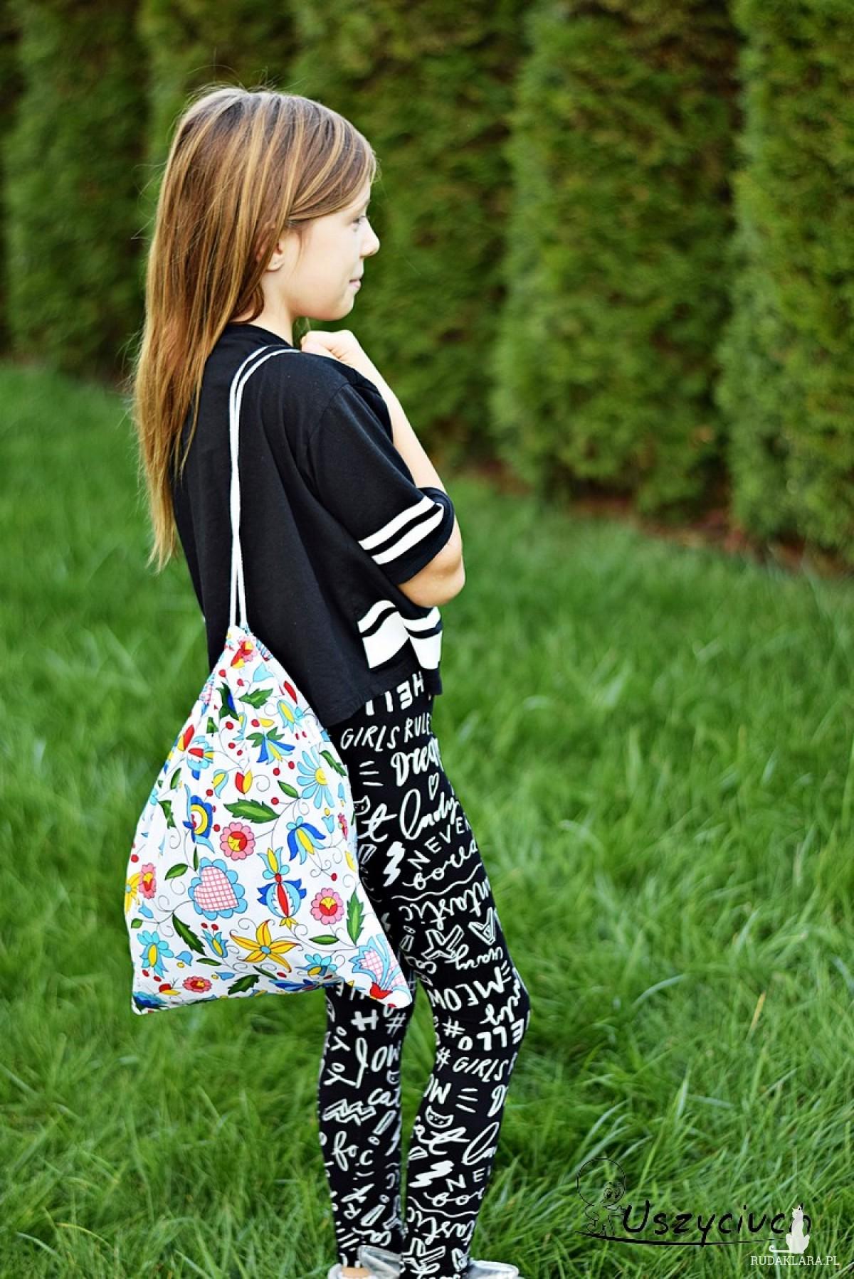Worek na buty worek na kapcie do przedszkola do szkoły worek szkolny na ubrania kaszubski