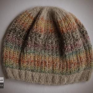 Tęcza czapka z alpaki