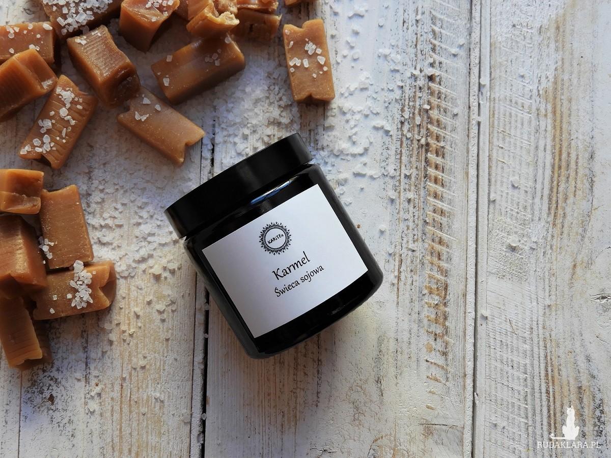 Zapachowa świeca sojowa Karmel