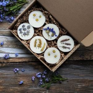 Zestaw ekologicznych, naturalnych wosków sojowych