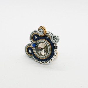 3-kolorowy pierścionek sutasz