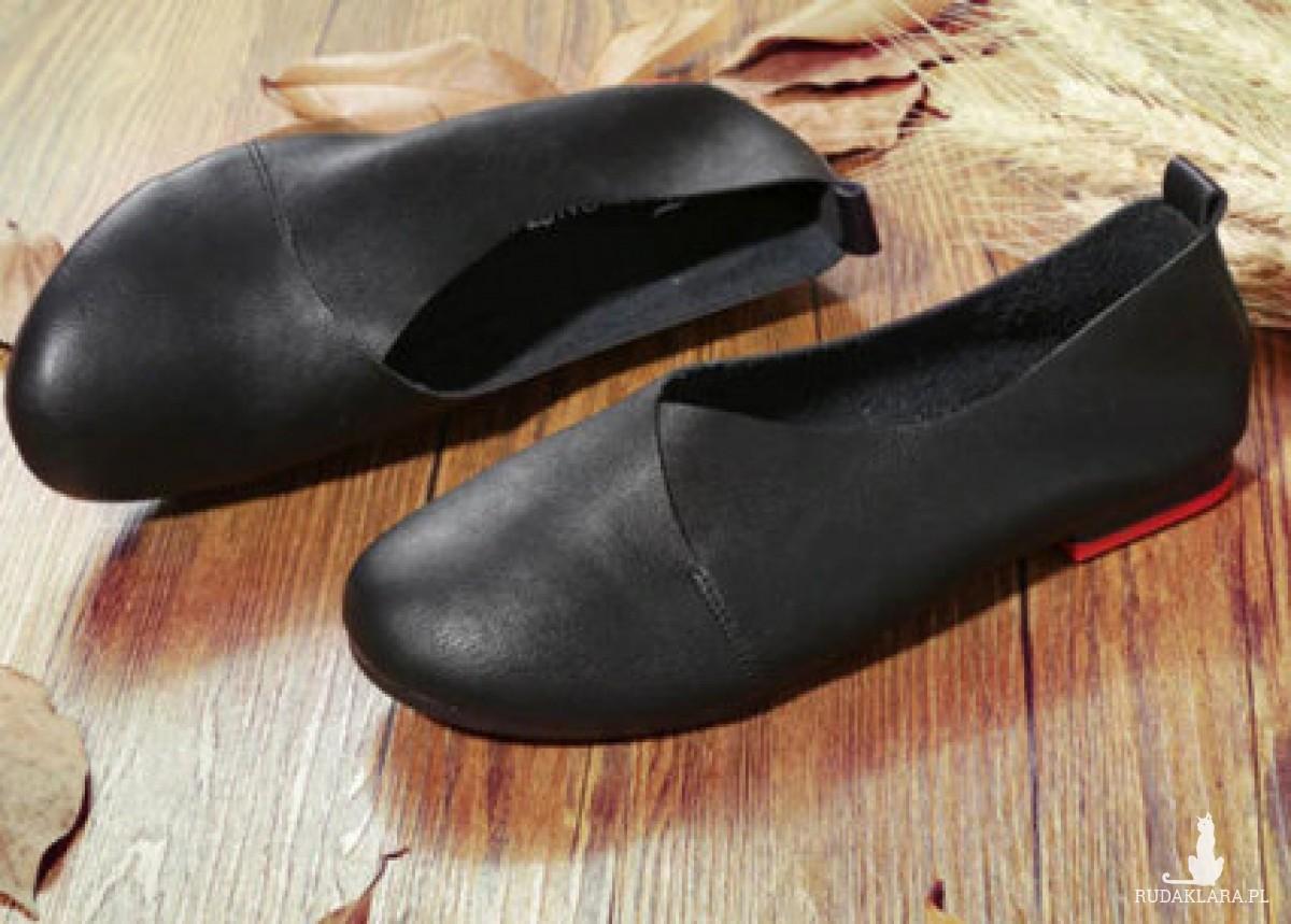 buty czarne baleriny rozmiar 36