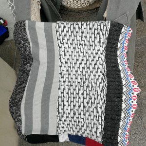 komin patchworkowy ciepły zimowy unisex damsko- męski handmade