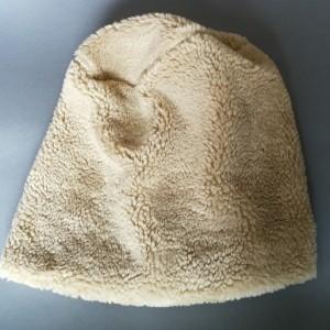 czapka futrzana sztuczny mis duża luźna zimowa