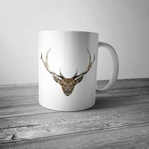 Kubek z jeleniem