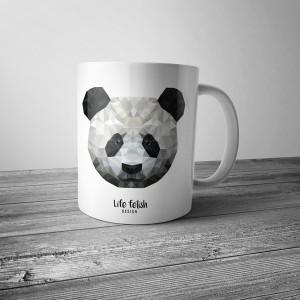 Kubek z pandą