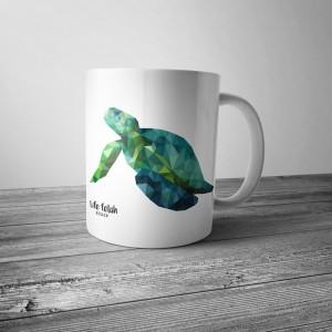 Kubek z żółwiem