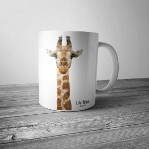 Kubek z żyrafą