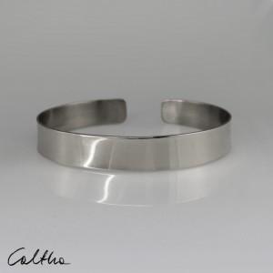 Gładka - srebrna bransoleta wąska 190804-15