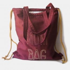MOM BAG plecak torba 2w1 dla mamy