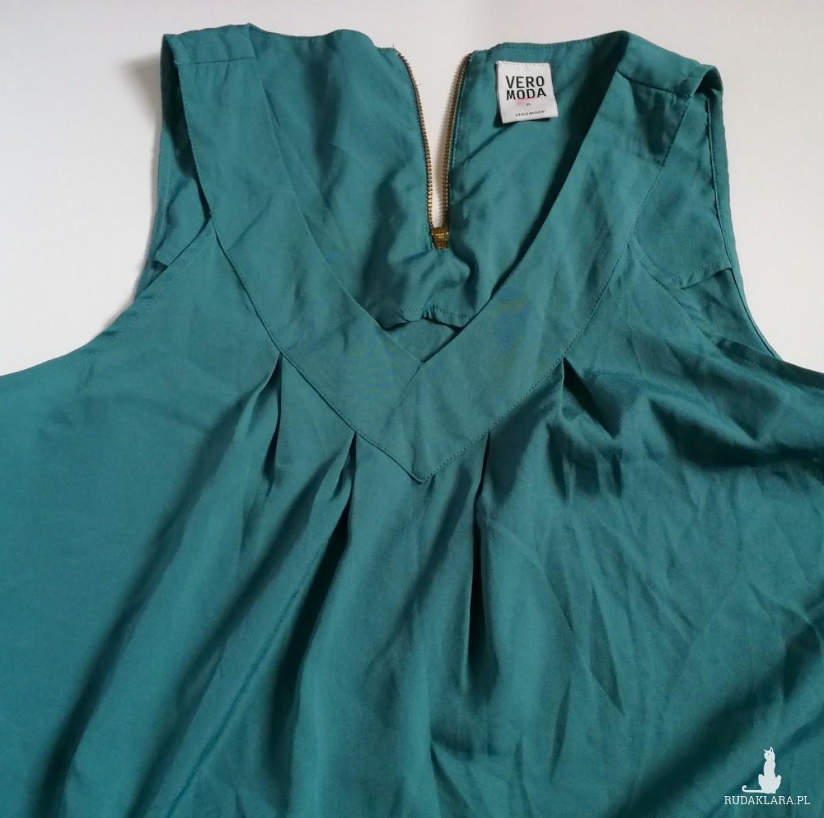 bluzka turkusowa firma vero moda rozmiar M