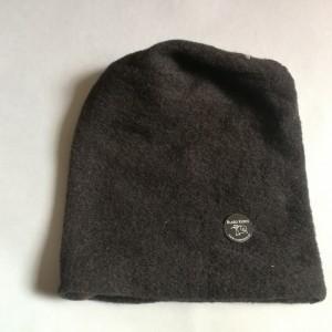 czapka czarna unisex ciepła