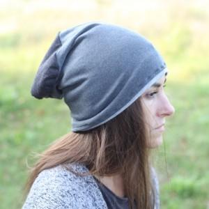 czapka dzianinowa sportowa unisex szara