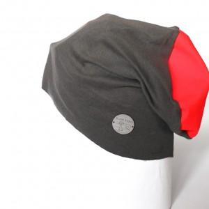 szara dzianinowa czapka unisex