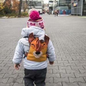 Mini plecaczek dziecięcy wiewiórka