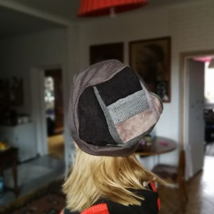czapka unisex w szarościach