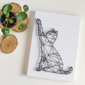 """""""Geometric design"""" Kot geometryczny dla dziecka"""
