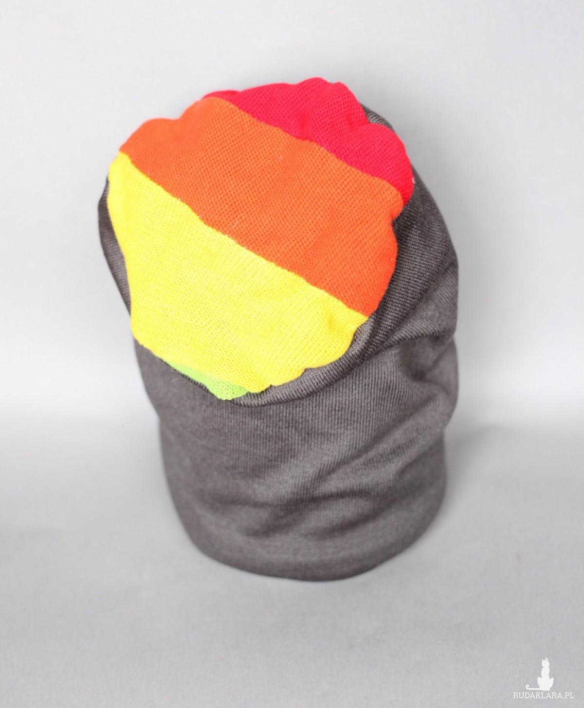 czapka handmade unisex X1