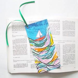 kolorowe zakładki do książek, fajne zakładki, zakładki na prezent, dizajnerskie zakładki do książek, komplet 5 zakładek, upominki, prezenciki, prezenty dla gości