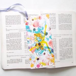 kolorowe zakładki do książek, nowoczesne zakładki, dizajnerskie zakładki, zestaw 5 zakładek, upominki, prezenciki, prezenty dla gości
